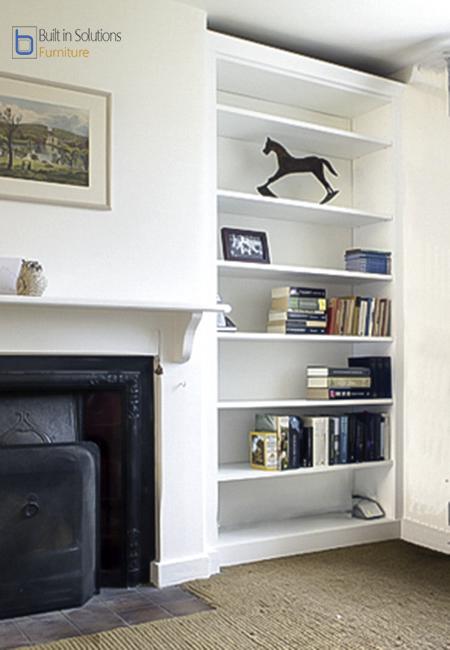 Beautiful Julia Ryan Builtin Bookshelves