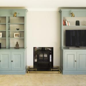 Victorian alcove cupboard
