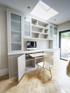 built in home office ideas