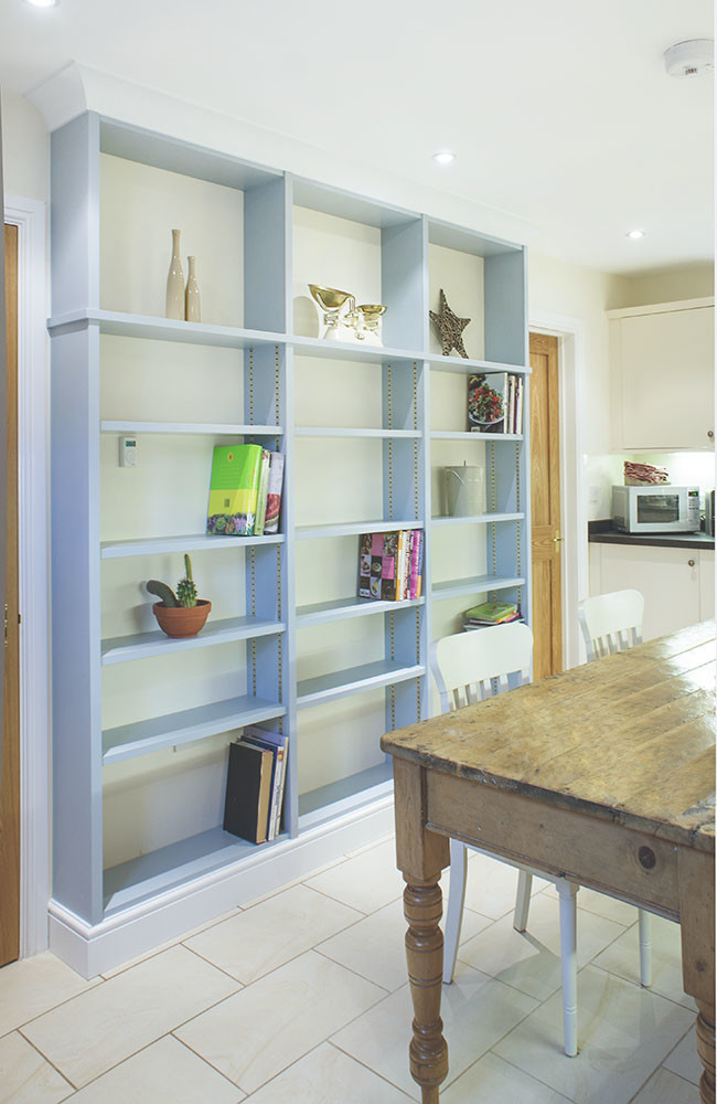 Built In Bookcases | Fitted Bookcases | Built in Solutions