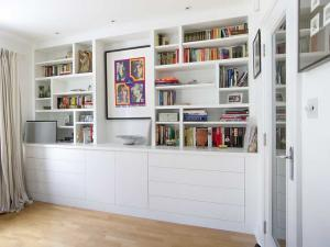 Modern contemporary large living room cupboards