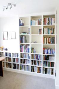 bookshelves built in