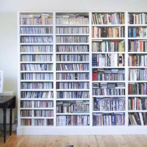 built in bookcases for home library 2