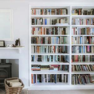 built in bookcases for home library