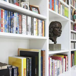 contemporary bookcases fitted