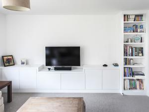 Built in TV Unit contemporary