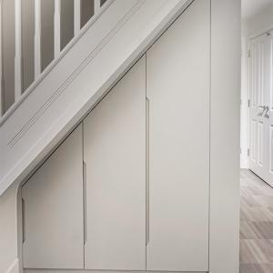 Fitted under stairs cupboard