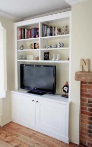 Large TV Alcove cupboard
