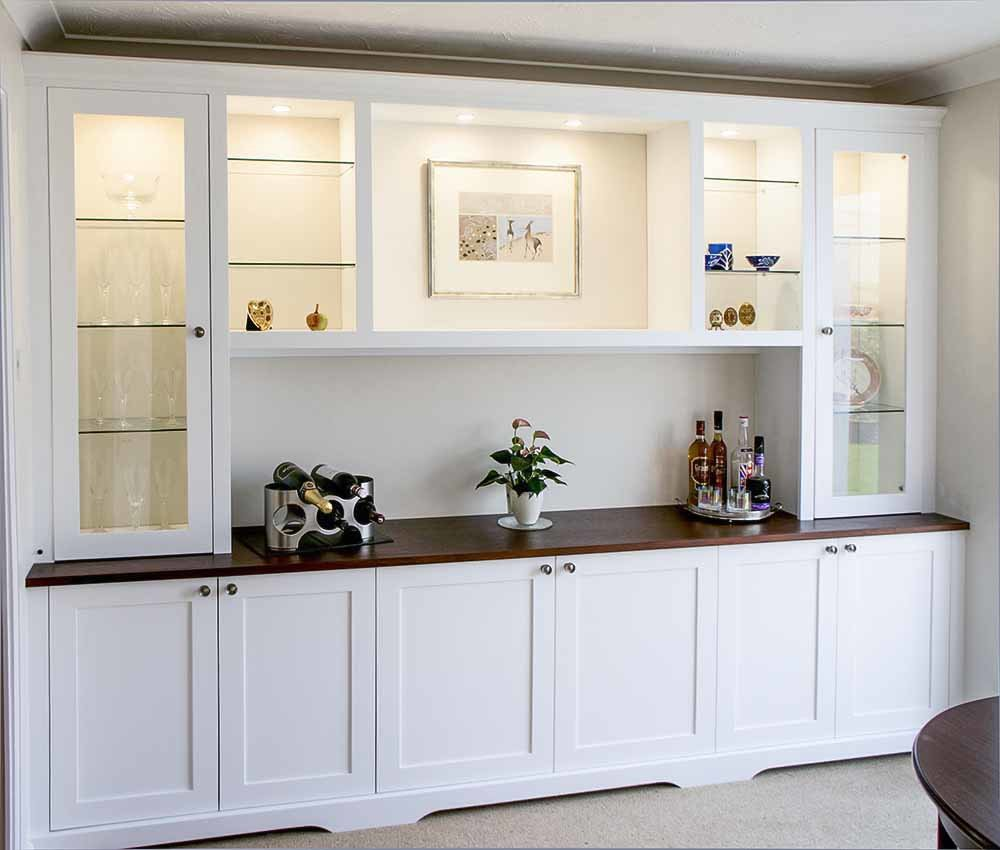 Built In Cupboards Fitted Cabinets, Dining Room Cupboards Uk