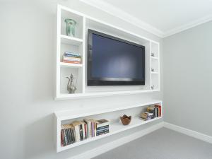 builti n TV wall unit