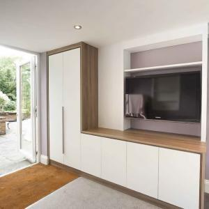 modern cabinets and cupboard