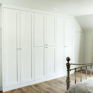 Built in wardrobes in shaker style