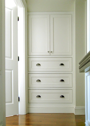 Bedroom Cupboard in an alcove