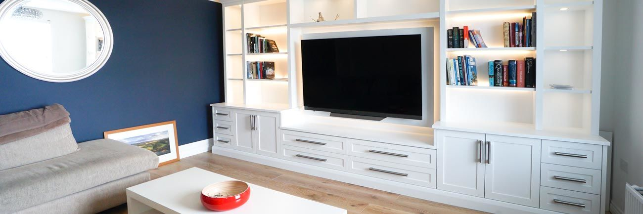 Fitted TV media unit