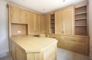 Fitted home office in Oxford