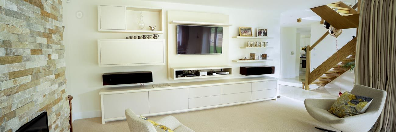Fitted living room furniture - Maidenhead