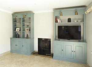 Oxford alcove cupboards