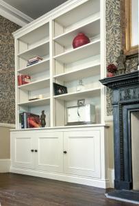 Victorian style alcove cupboards Oxford