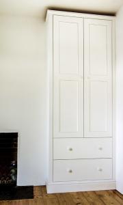 Period- Victorian -wardrobes in alcove