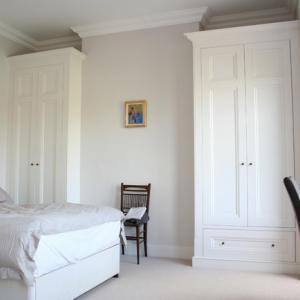 Victorian built in Bedroomwardrobes in Alcoves