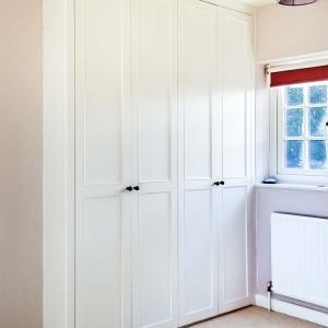 double Fitted alcove wardrobe