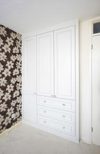 fitted period victorian wardrobe with drawers