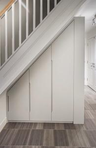 understairs modern contemporary builtin wardrobe cupboard