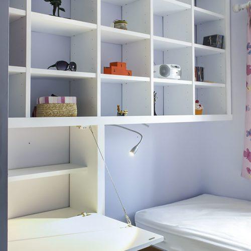 Bedroom study area