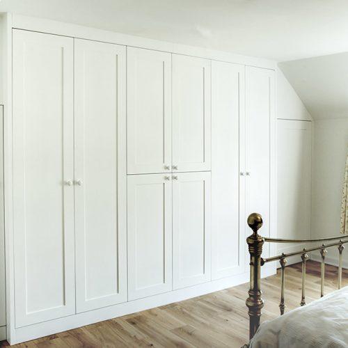 Built in Bedroom in shaker style