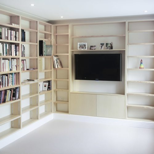 Bookcases Fitted Built In, Living Room Bookcases & Built-In