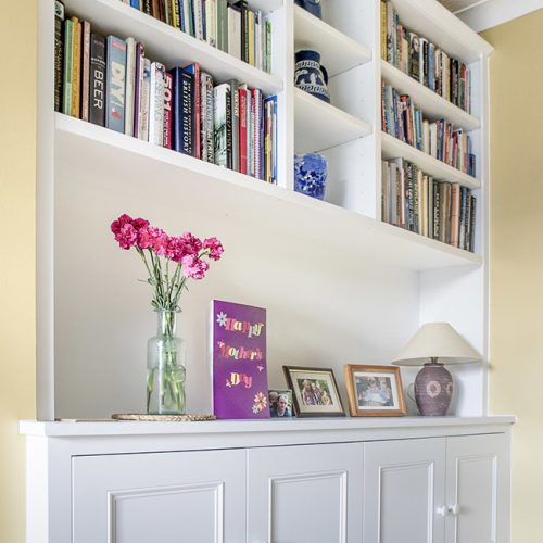 Built in Cupboards and shelves