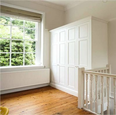 Built-in-wardrobe-in-period-Victorian-style-in-hallway