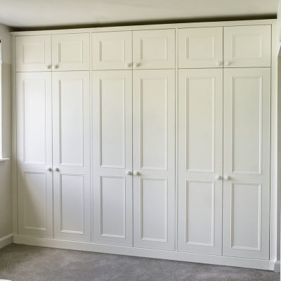 FItted wardrobes in traditional victorian design