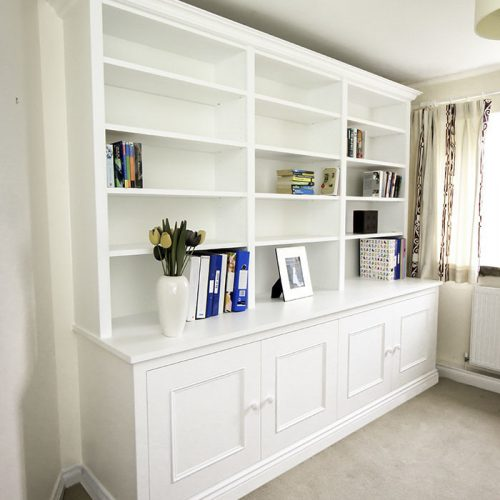 Fitted cupboards Livng room