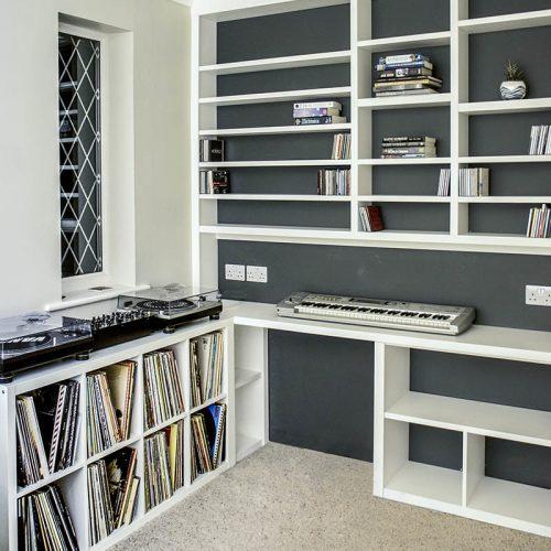 Home Office music studio