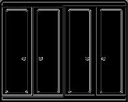 21. addition sections for longer or adjacent walls