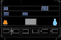 +3.0m--6-door---3-column-bookcase--TV-display