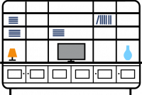 +3.0m--6-door---3-column-bookcase--TV-display-outer-bookcases-split