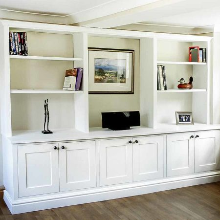 Lovely looking Built in Living room cupboards
