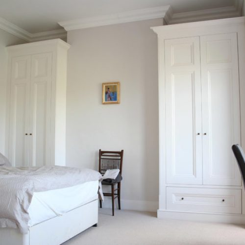 Victorian built in bedroom