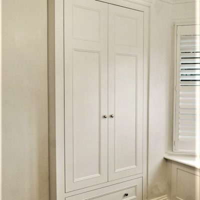 Victorian styled built in wardrobes