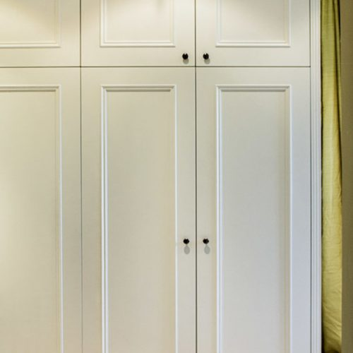 Period Fitted Wardrobe in a Georgian Manor House