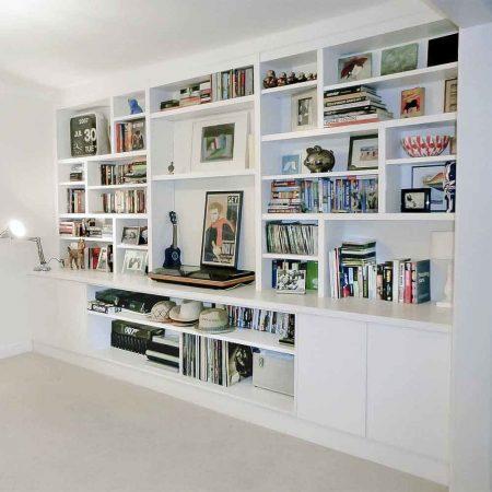 Bespoke lounge cupboards