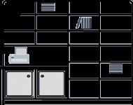 17. addition sections for longer or adjacent walls