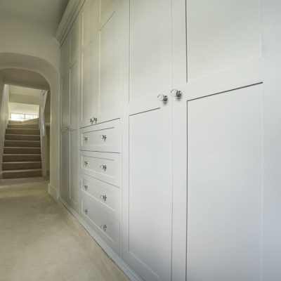 Victorian fitted Shaker wardrobes